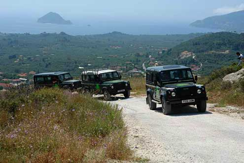 Jeep safari with My-tours.gr in Zakynthos - Zante island