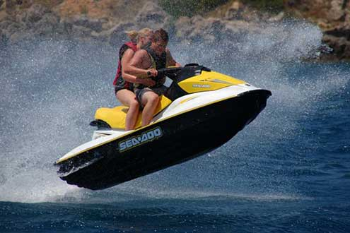 Watersports in Zante island with my-tours.gr